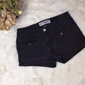Black Shorts Mid Rise Size 3